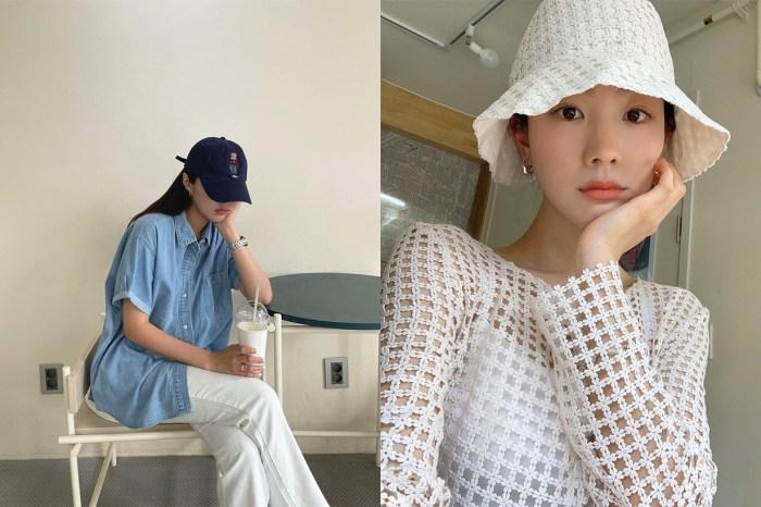 戴帽出門也絕不馬虎,韓國女生櫃子必準要有的 4 款帽子!