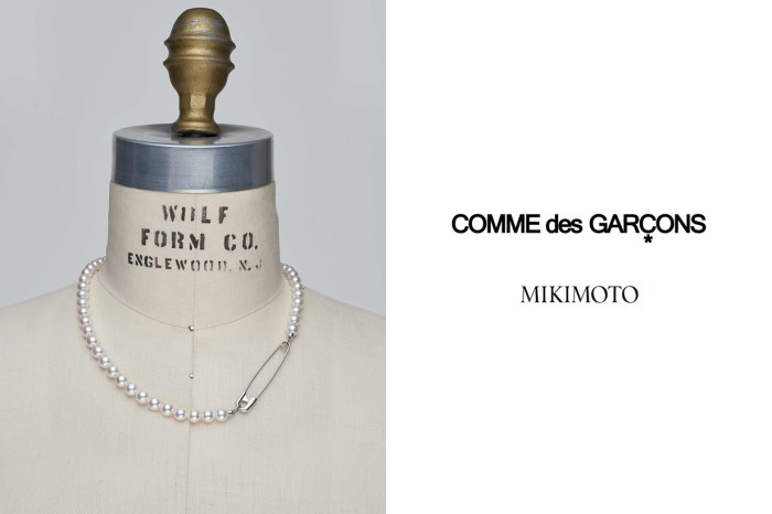MIKIMOTO x COMME des GARÇONS 第二彈珍珠項鍊,必收的叛逆優雅!