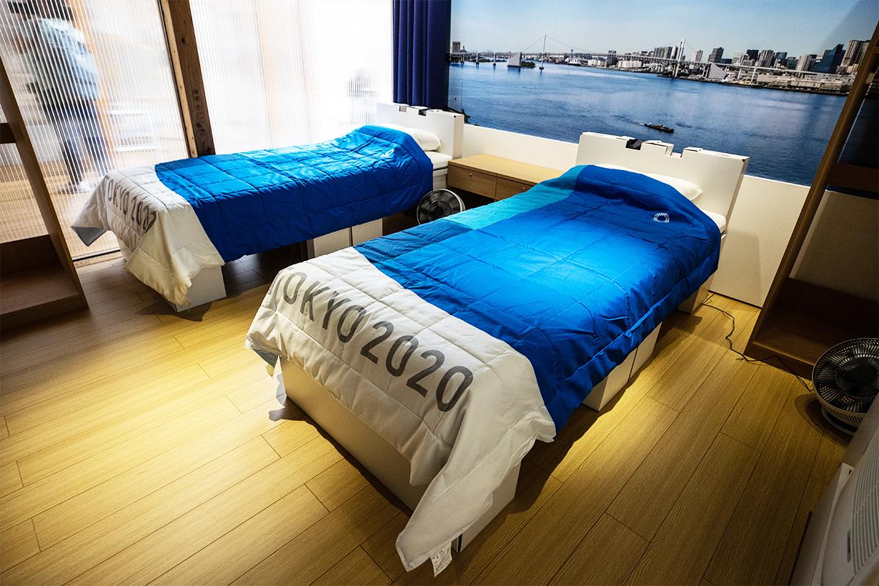 olympic village anti-sex' beds