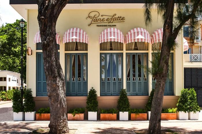 走進赤柱海旁的 Pane e Latte,就像是走進歐洲的小店一樣!