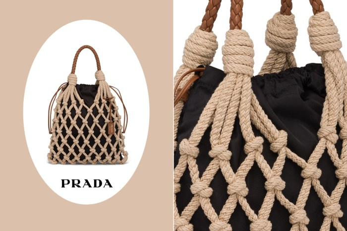 大約 $1 萬元就可入手!Prada 這個繩結手袋怎可以讓它留在貨架上?