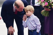 喬治王子一張舊照片被翻出意外引起討論,網民:願你永遠也記得這一刻!