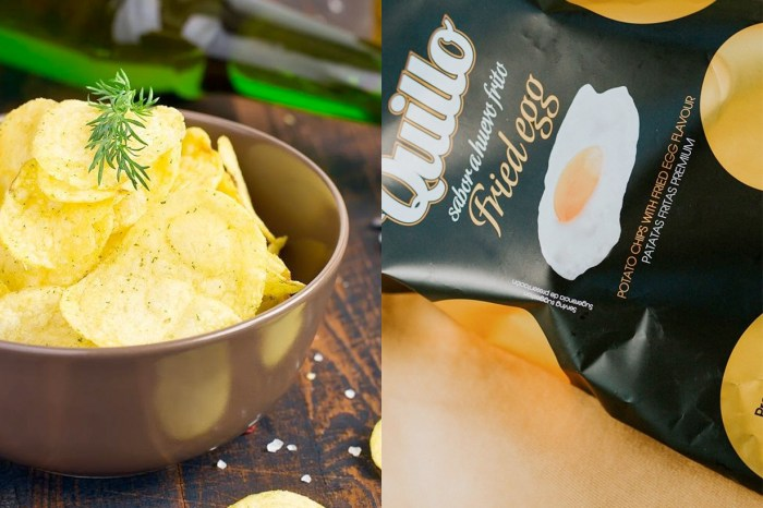 一口接一口:把煎蛋變成洋芋片,還有高級的白松露口味!