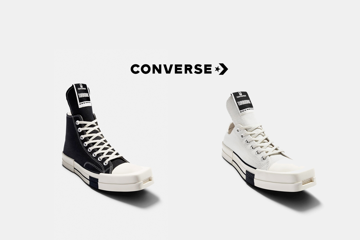 converse rick owens taiwan  DRKSHDW TURBODRK chuck 70 where buy 2021
