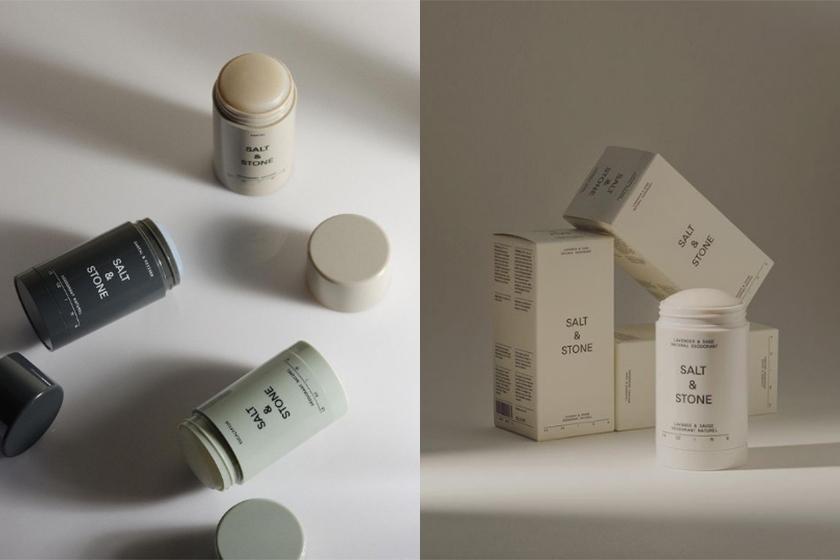 Salt & Stone natural deodorant vegan Le Labo Santal 33