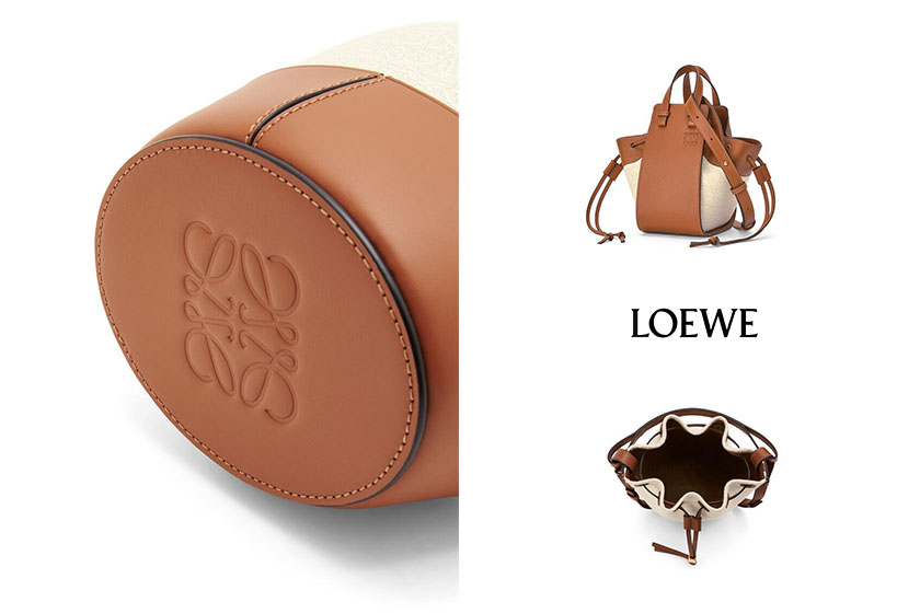 Loewe Anagram Mini Balloon bag Mini Hammock Drawstring Cushion Tote handbags 2021