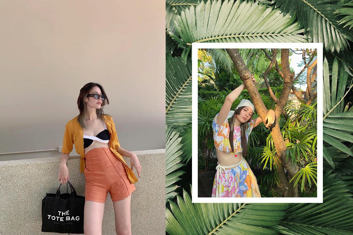 Thai celebrities Linn Mashannoad outfit tips