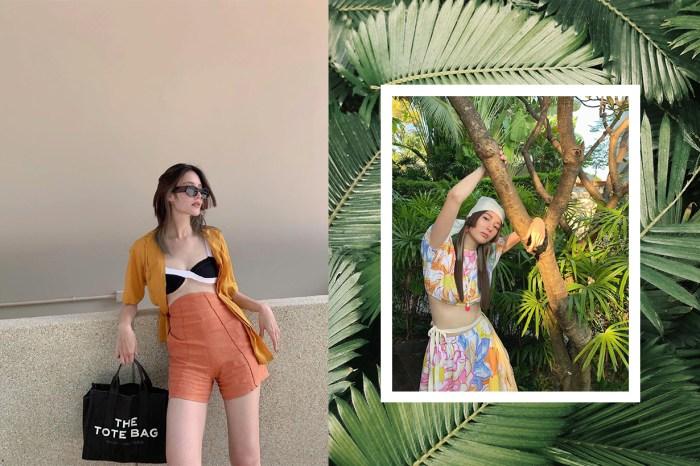 厭倦了日韓系穿搭?「泰國水原希子」Linn Mashannoad 教你穿出泰式陽光造型