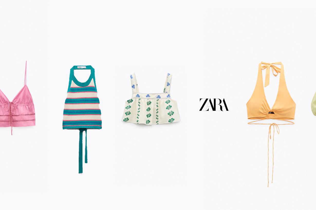zara top tank 2021 summer best choice
