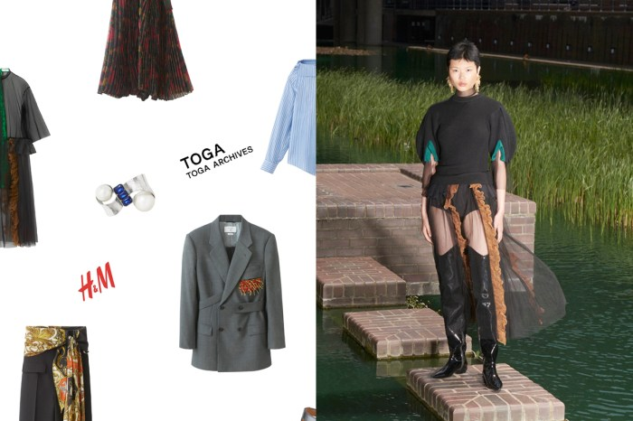 TOGA x H&M 完整單品釋出:衣櫃裡的基本款,都變得設計感滿分!
