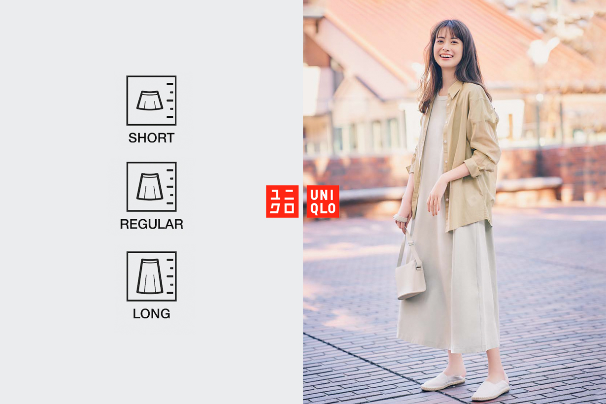 uniqlo dress design for different height 2021