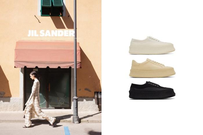 恰到好處的優雅:Jil Sander 新上架厚底鬆糕波鞋,迅速引起極簡女生注意!
