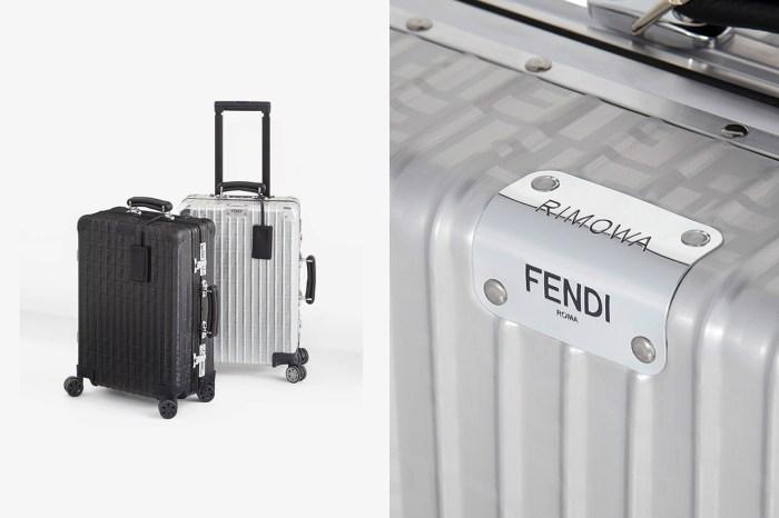 印上經典老花:時髦女生最愛的 Fendi x Rimowa 再度合作推出行李箱!