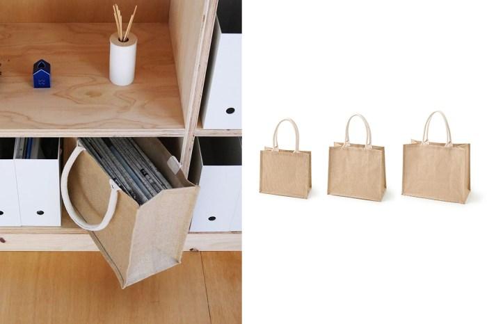 MUJI 每回上架必定缺貨的麻布購物袋,也能成為居家收納好物!