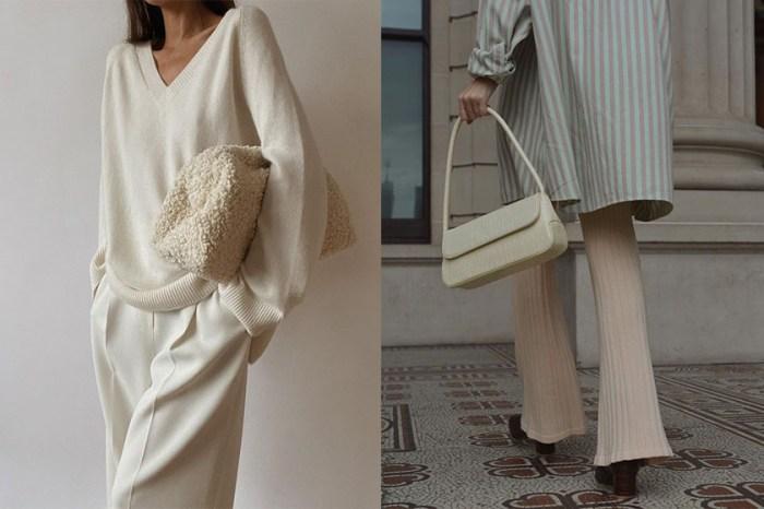 從小眾品牌到 Loewe 遺珠手袋,別想太多就從極簡白色入手吧!