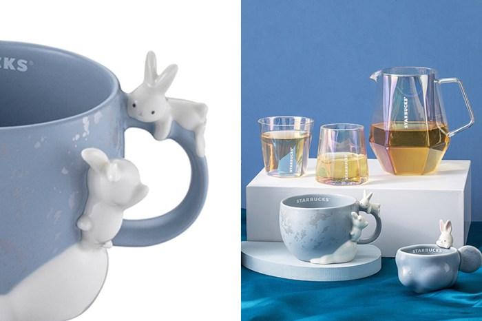 最期待的 Starbucks 中秋節限定:可愛玉兔造型馬克杯讓人難以招架!