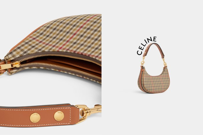 今年秋冬的格紋包:Celine Ava Bag 悄悄改版,背帶更實用了!
