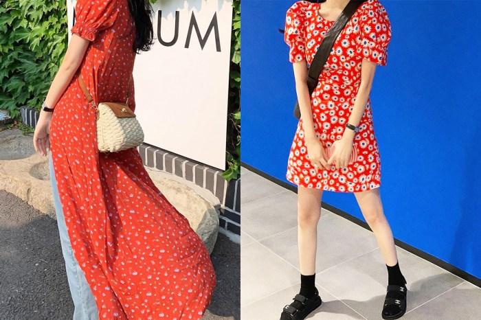 嬌小女生學起來!連身裙這樣穿,馬上變成修腰款式展現曲線美!