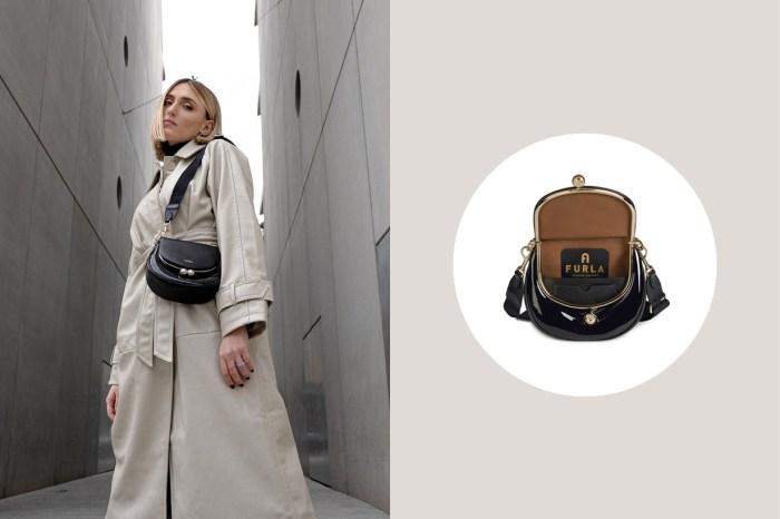 零錢包放大了:小資女生的 Furla ,這一枚新手袋復古可愛翻!