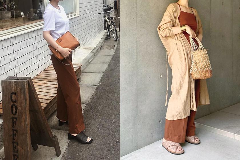 Uniqlo and Mame Kurogouchi AIRism pants