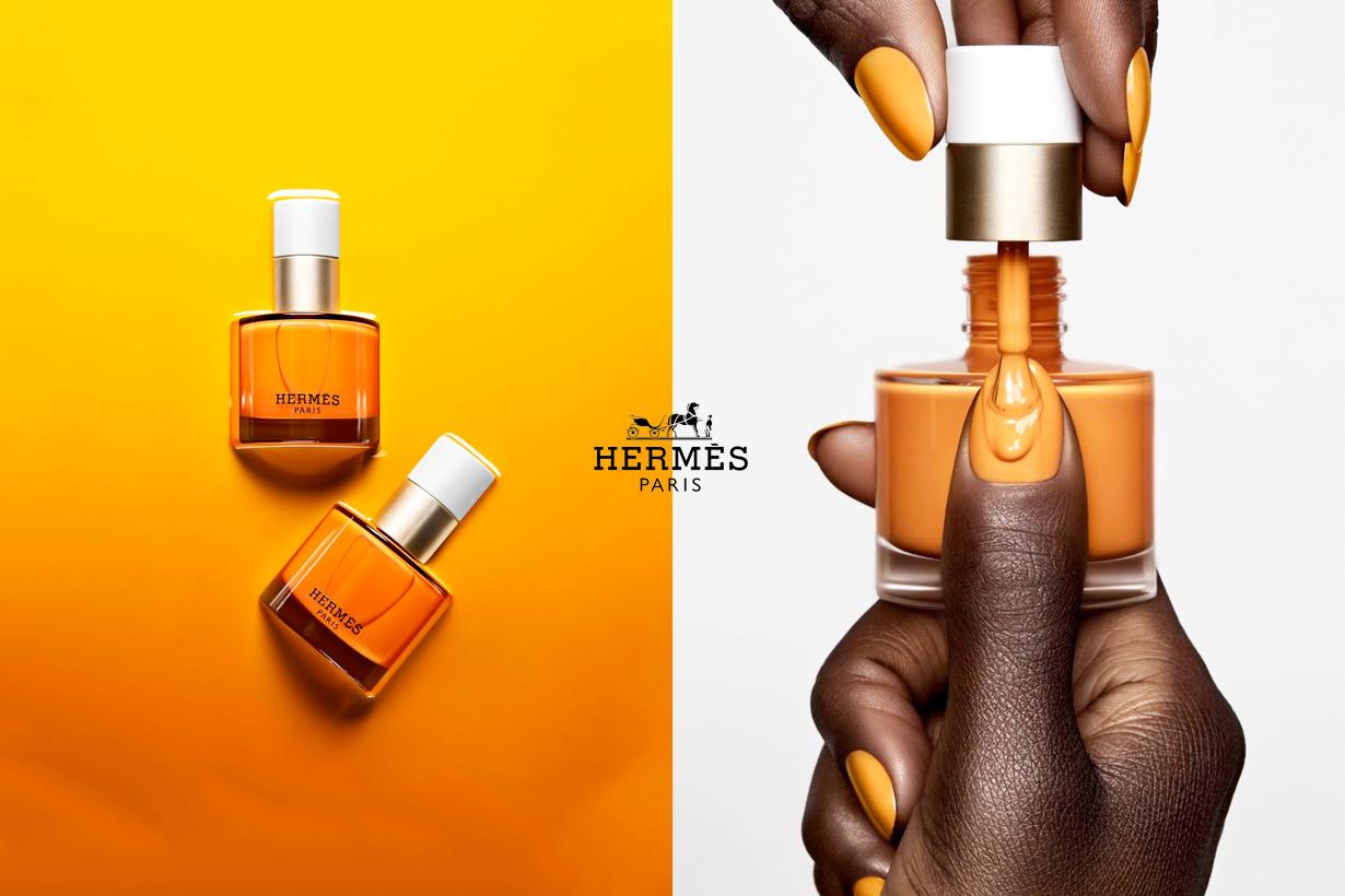 hermes nail polish orander oct release beauty