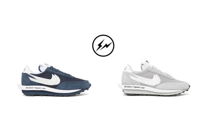 又一雙新配色:吊盡胃口,Sacai x Nike x fragment 本月開賣?