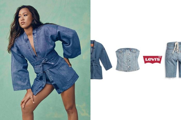 Levi's 和服外套、綁帶小可愛… 僅 4 樣單品的超限量聯名!