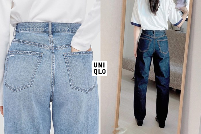 UNIQLO 高腰牛仔褲不只顯腿長,還被稱為「大屁股救星」!