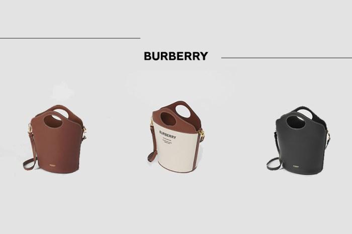 新寵兒接棒:Burberry Pocket Bag 變身水桶包,時髦女生表示更該入手!