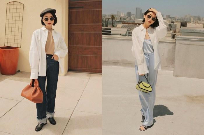 仲夏至初秋的時尚技巧:喜歡穿恤衫的你,必定要學這幾招!