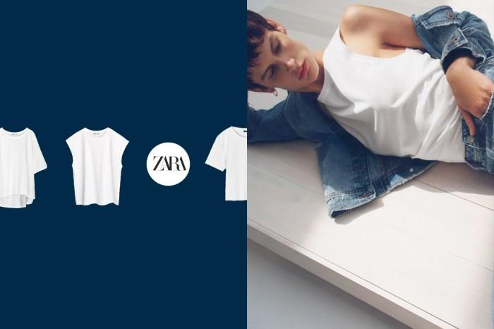 基本又不花錢:Zara 6 件白上衣,一週有它們就夠!