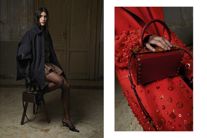 Valentino 推出 Rockstud Alcove 箱型包!精緻小巧的外表為造型加分