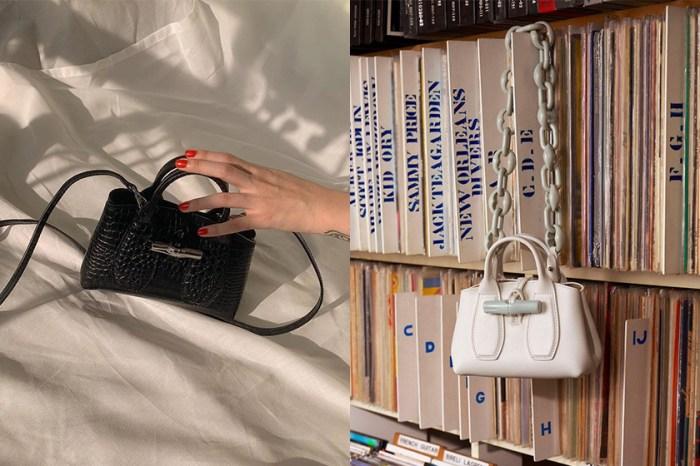經典竹節扣+迷你尺寸:這款 Longchamp 低調手袋,被時髦女生放入口袋名單!