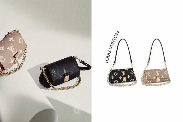 最美遺珠手袋:Louis Vuitton 兩種揹帶腋下包,三個配色都太心動!