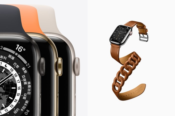 更寬的螢幕、更多的錶帶搭配:Apple Watch Series 7 一次推出 5 種顏色設計!