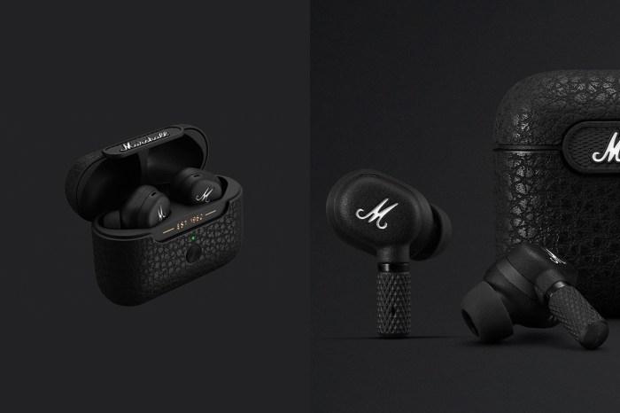 率性的霧黑質感:人氣音響品牌 Marshall 推出首款降噪藍芽無線耳機!