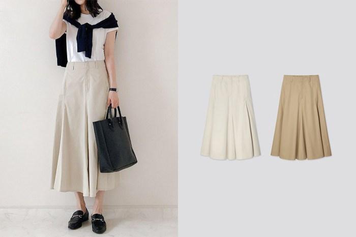 偷師日本女生命定款:實搭度滿分的 Uniqlo U 奶油色長裙必須先入手!