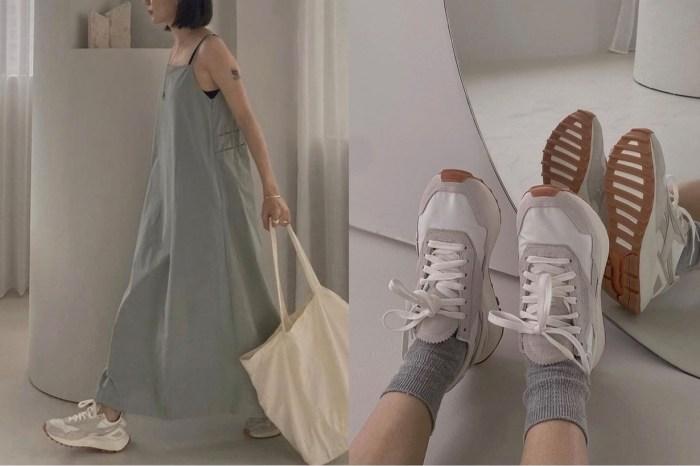 百搭四季的小白鞋,女生們都在討論的是 Reebok 這雙復古奶油色波鞋!