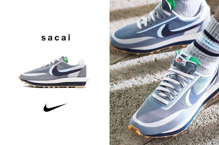 一抹迷人的藍色調:CLOT x sacai x Nike LDWaffle 新配色「K.O.D. 2」正式公開!