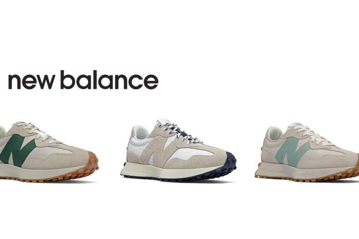 重點筆記:最愛的 New Balance 327,秋日要一口氣上架 9 個新色!