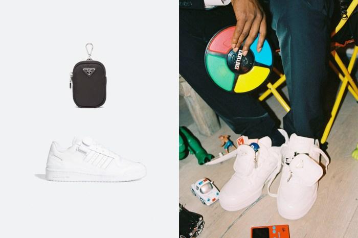 小包+波鞋一次擁有?Prada for adidas 偷偷曝光,這一次更心動!