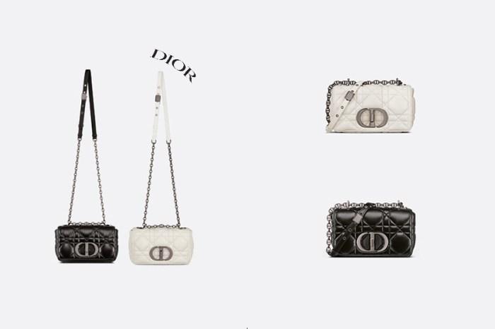 下顆爆款:Dior Caro 全新手袋,明明只是小細節的不同但卻更美了!