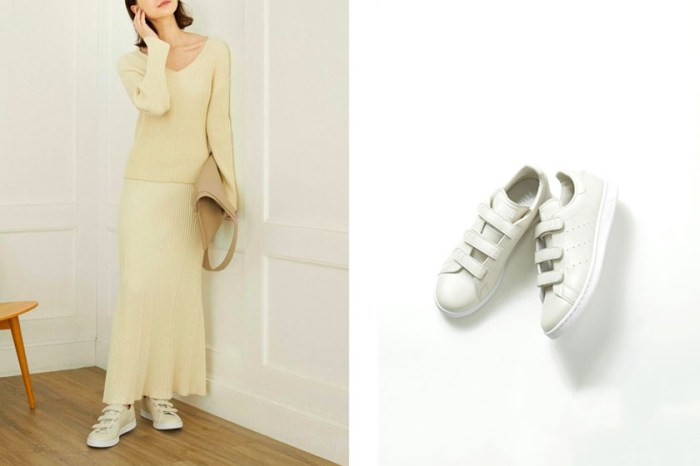 adidas Originals 奶油白 Stan Smith 波鞋,日本女生迫不及待!