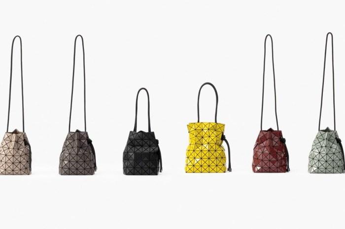 不撞手袋的選擇:Bao Bao 抽繩水桶包,束起來更可愛!