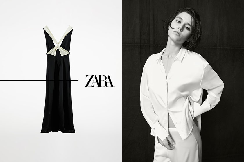 zara lingerie collection loungewear 2021fw