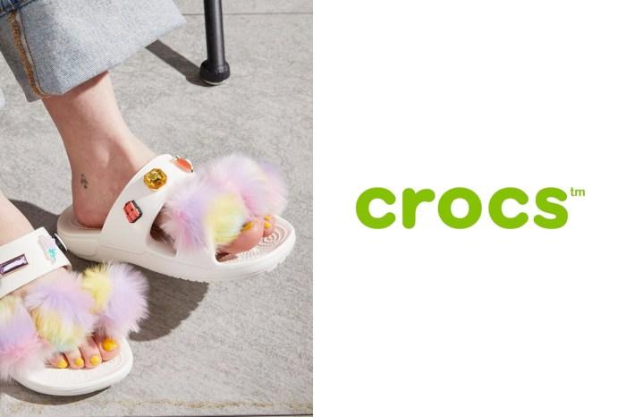 抓住夏天的尾巴:Crocs 寬帶拖鞋,搭配斜扣更可愛!