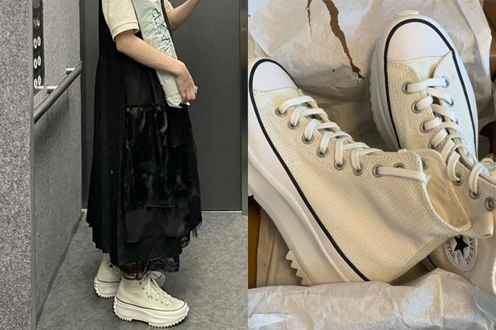 人氣 No.1:日本女生怨嘆買不到,Converse 厚底波鞋又引起熱潮!