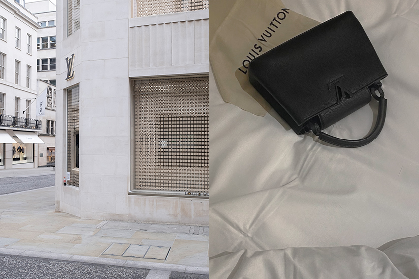 Louis Vuitton Capucines collection new handbags 2021fw