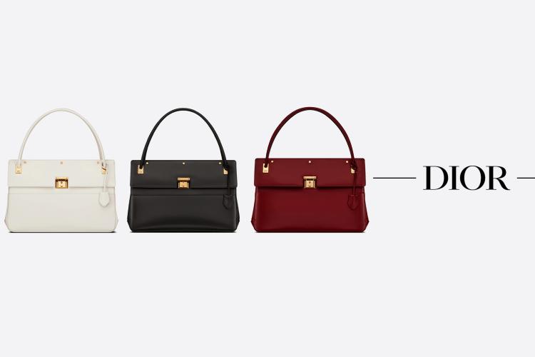 屬於職場的一份經典優雅:Dior 全新大容量手袋悄悄上架了!
