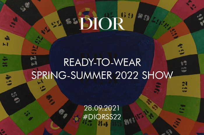 PFW:邀請你看 Dior 2022 春夏時裝秀!